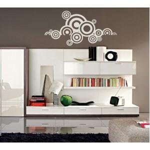 Стикер за стена | Геометрични  | Кръгове 206