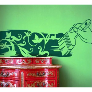 Стикер за стена | Настроение  | Артистична четка
