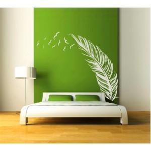 Стикер за стена | Спалня  | Перо с птици