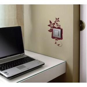 Стикер за стена | Ключове, Контакти  | Цъфнал контакт, Единичен, 3 бр.