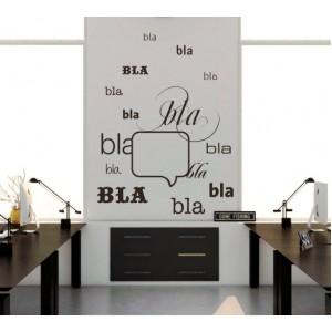 Декорация за стена | Офис | Бла-бла балон