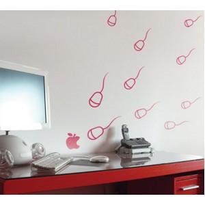 Стикер за стена | Изображения | Нападението на мишките