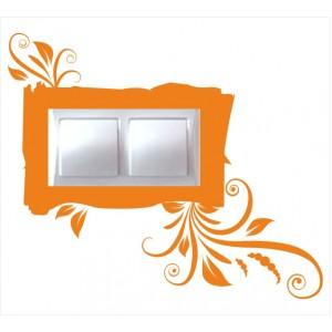 Стикер за стена | Ключове, Контакти  | Модел 40207D, Двоен, 2 броя