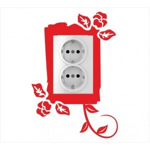 Стикер за стена | Ключове, Контакти  | Модел 40208V, Вертикален, 2 броя