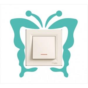 Стикер за стена | Птици, Пеперуди  | Модел 40210S, Единичен