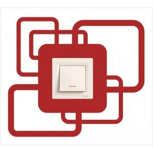 Стикер за стена | Геометрични  | Модел 40218S, Единичен, 3 броя