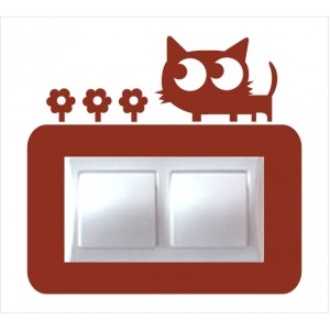 Стикер за стена | Котки  | Модел 40219D, Двоен, 2 броя