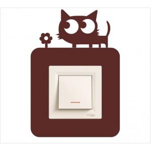 Стикер за стена | Котки  | Модел 40219S, Единичен, 3 броя
