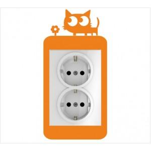 Стикер за стена | Котки  | Модел 40219V, Вертикален, 2 броя