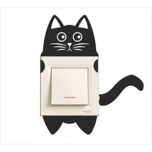 Стикер за стена | Котки  | Модел 40220, 5 броя