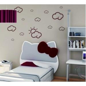 Декорация за стена | Детска стая  | Облаци 0210