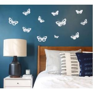 Стикер за стена | Акценти  | Пеперуди 4409