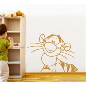 Стикер за стена | Мечо пух  | Колекция Мечо Пух, Тигър