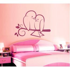 Стикер за стена | Птици, Пеперуди  | Птици 723, Прегръдката