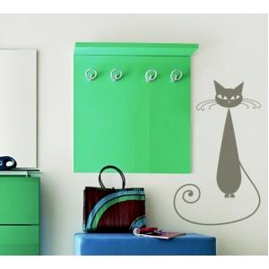 Стикер за стена | Котки  | Котка 12, Стройна