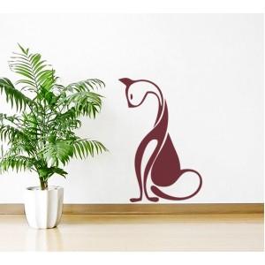 Стикер за стена | Котки  | Котка 16, Свенлива