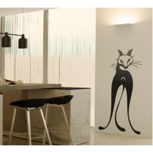 Стикер за стена | Котки  | Котка 18, Свенлива