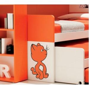 Стикер за стена | Котки  | Котка 25, Сладурана