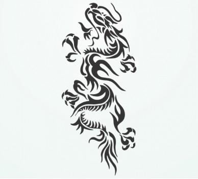 Дракон 07, С орнаменти
