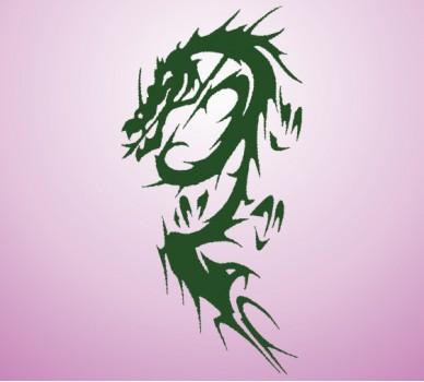 Дракон 06, С орнаменти