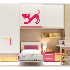 Стикер за стена | Кучета  | Куче 03, Лаещо