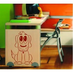 Стикер за стена | Кучета  | Куче 05, Дружелюбно