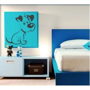 Стикер за стена | Кучета  | Куче 07, Очакващо