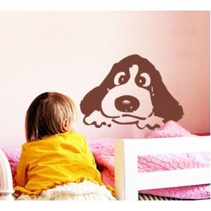 Стикер за стена | Кучета  | Куче 08, Тъжно