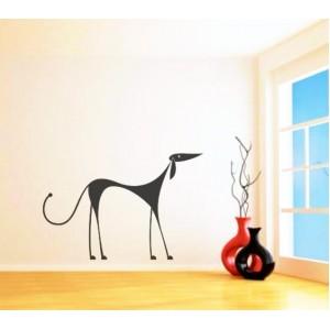 Стикер за стена | Кучета  | Куче 12, Елегантно