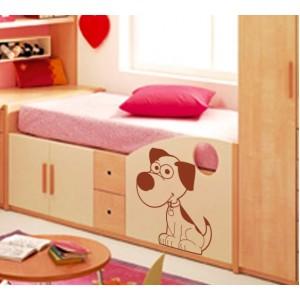 Стикер за стена | Кучета  | Куче 01, Симпатично