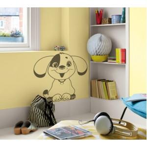 Стикер за стена | Кучета  | Куче 02, Весело