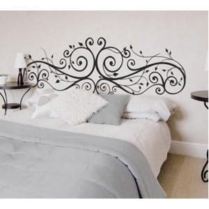 Стикер за стена | Форми, настроение  | Орнаменти в спалнята