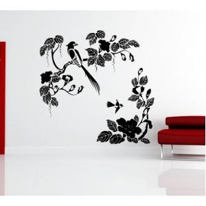 Стикер за стена | Клони  | Птици и клонки