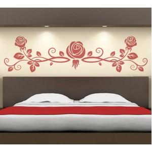Стикер за стена | Цветя  | Рози, Композиция от три