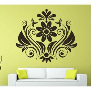 Стикер за стена | Орнаменти  | Цветя 35, Листа и орнаменти