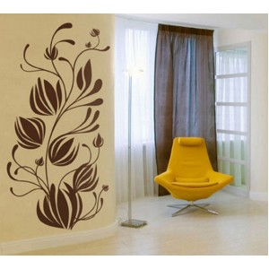 Стикер за стена   Клони    Гигантски цветни пъпки