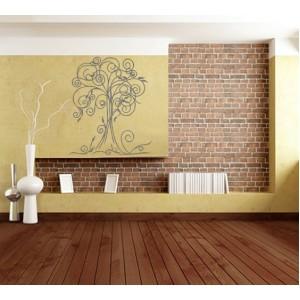 Дърво 10, с орнаменти