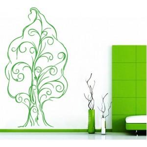 Стикер за стена | Дървета  | Дърво 11, с орнаменти