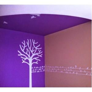Стикер за стена | Дървета  | Дърво 15, стилизирано