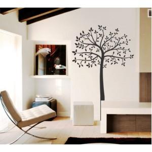Стикер за стена | Дървета  | Дърво с листа 10620