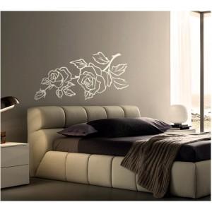 Декорация за стена | Спалня  | Цветя 22, Роза