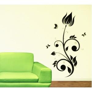 Стикер за стена | Орнаменти  | Цветя 26, Лале