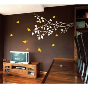 Стикер за стена | Клони  | Есенен клон 2 цвята