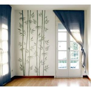 Стикер за стена | Трева, Бамбук  | Бамбукова гора