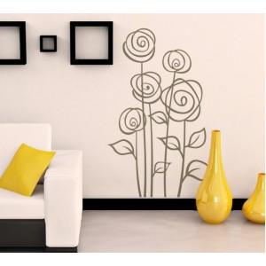 Декорация за стена | Спалня  | Цветя 28, Рози