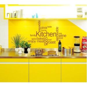 Стикер за стена   Надписи за кухня    Думи за Кухнята