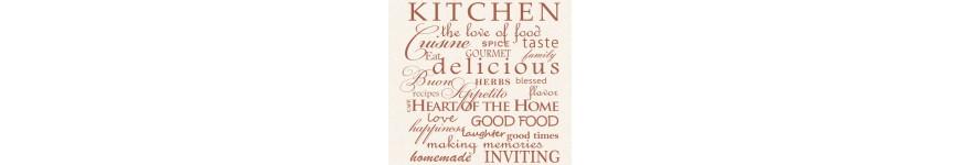 Надписи за кухня
