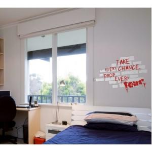 Стикер за стена | За мотивация | Използвай всеки шанс