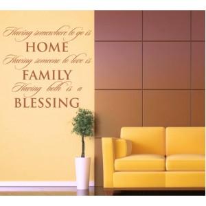 Дом, Семейство, Благословен