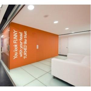 Декорация за стена | Офис | Изглеждаш забавно...